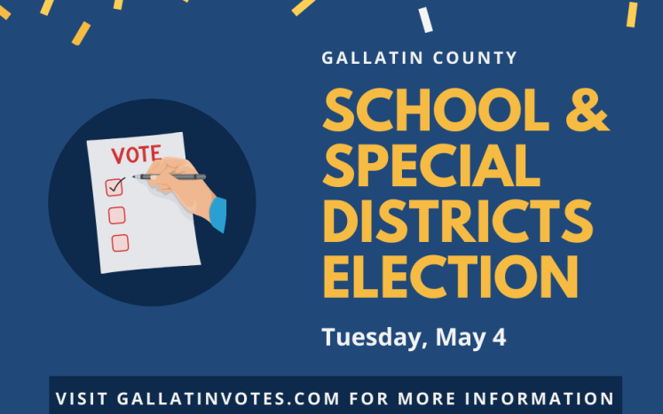 School and Special Districts Election