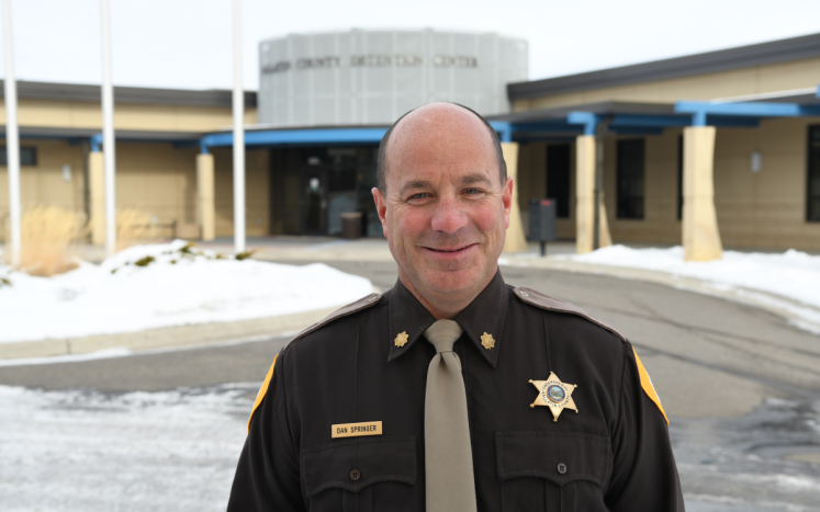 Interim Sheriff Dan Springer