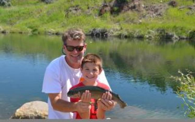 Father's Day Trout Fishing Derby